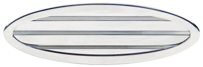Oval air grids (cod. 01.855) - Standard Air intakes Nautical accessories