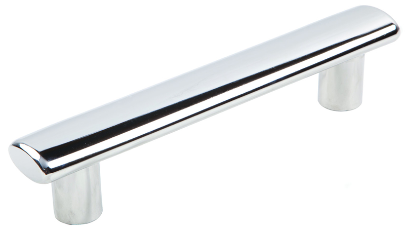 Elliptical straight handle (cod. 01.387) - Handles Nautical accessories