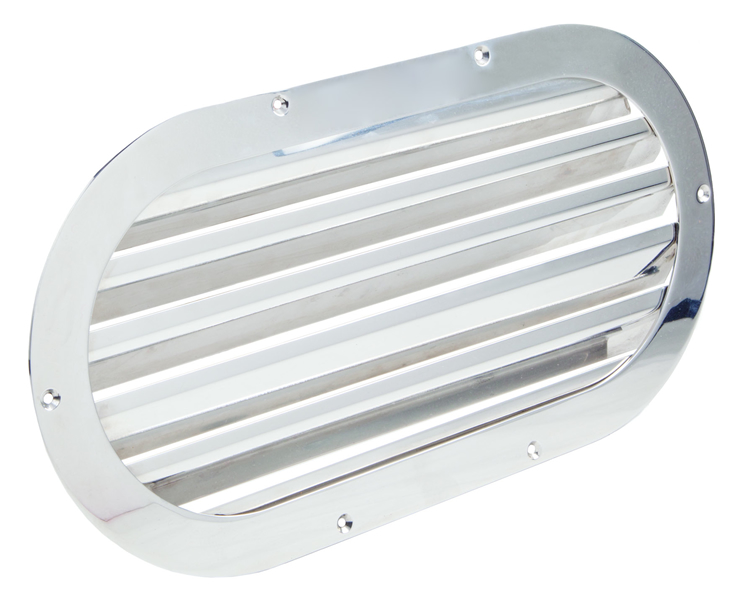 Oval air grids (cod.01.854) - Standard Air intakes Nautical accessories