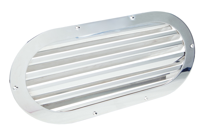 Oval air grids (cod. 01.852) - Standard Air intakes Nautical accessories