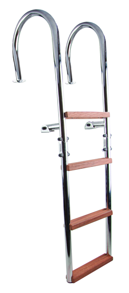 Folding ladder with handles (cod. 01.709) - Ladders Nautical accessories