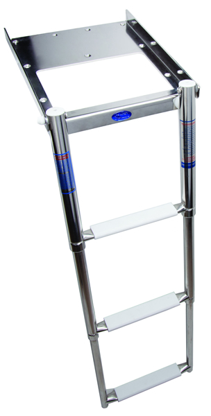 Removable ladder 3 steps (cod. 01.802) - Ladders Nautical accessories