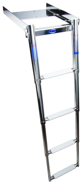 Removable ladder 4 steps (cod. 01.801) - Ladders Nautical accessories