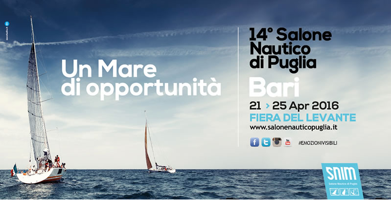 SALONE NAUTICO DI PUGLIA FROM 21 TO 25 APR 2016